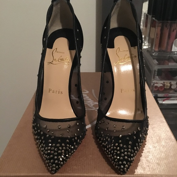 98b7860275f Christian Louboutin Crystal Follies Strass